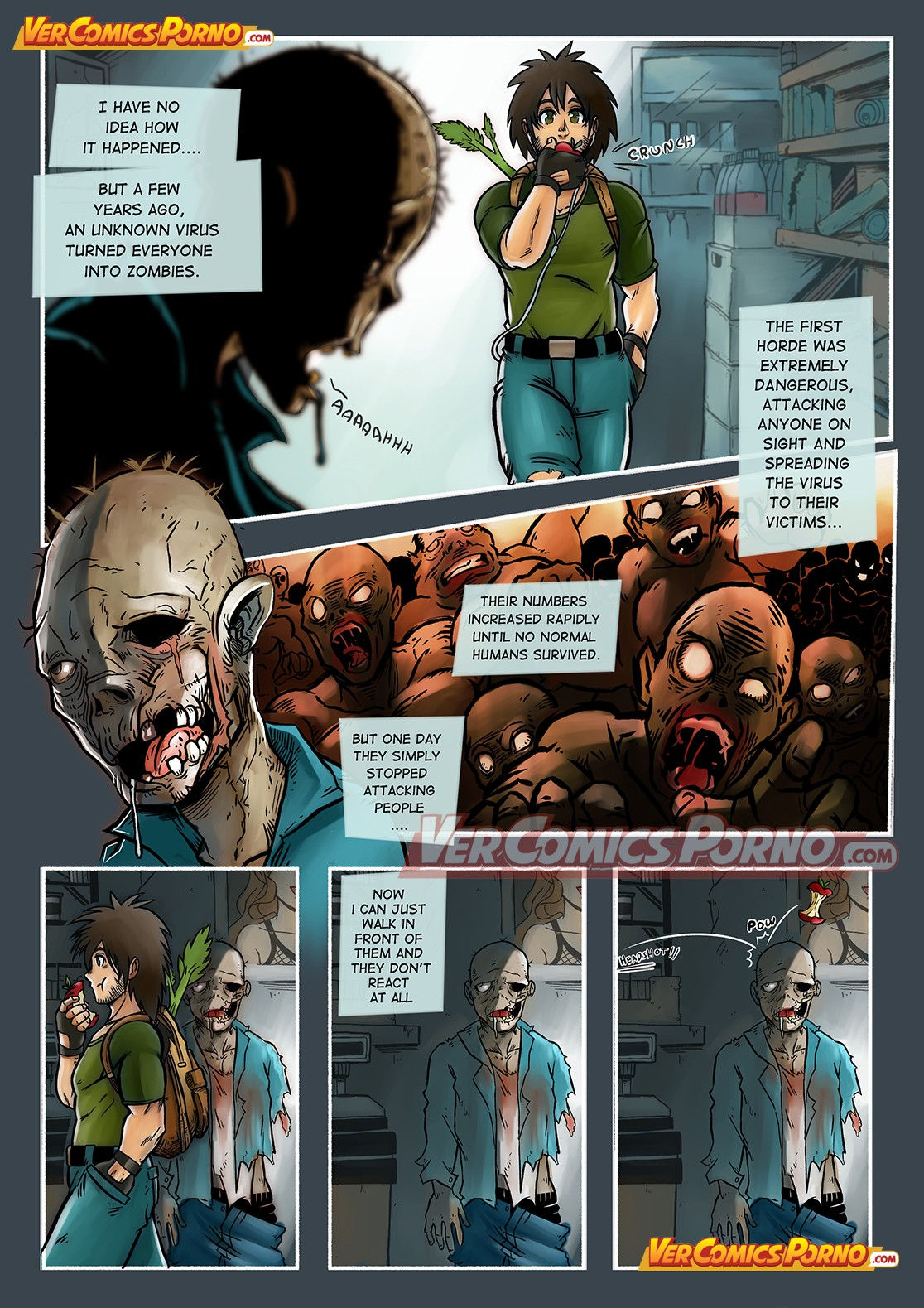 Cherry Road 1- A Zombie Fell For Me?
