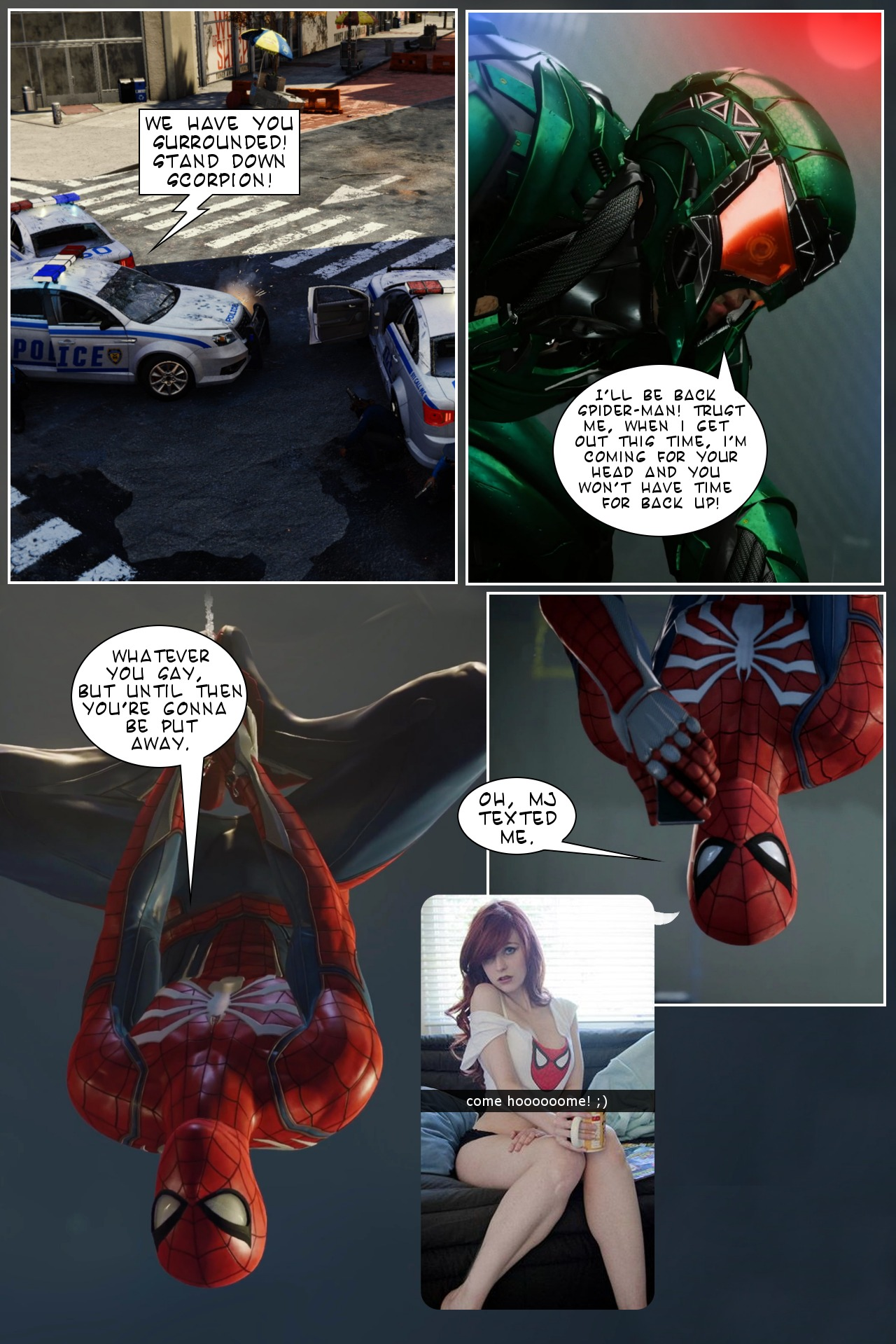Getting Home To MJ – (SpiderMan PS4)