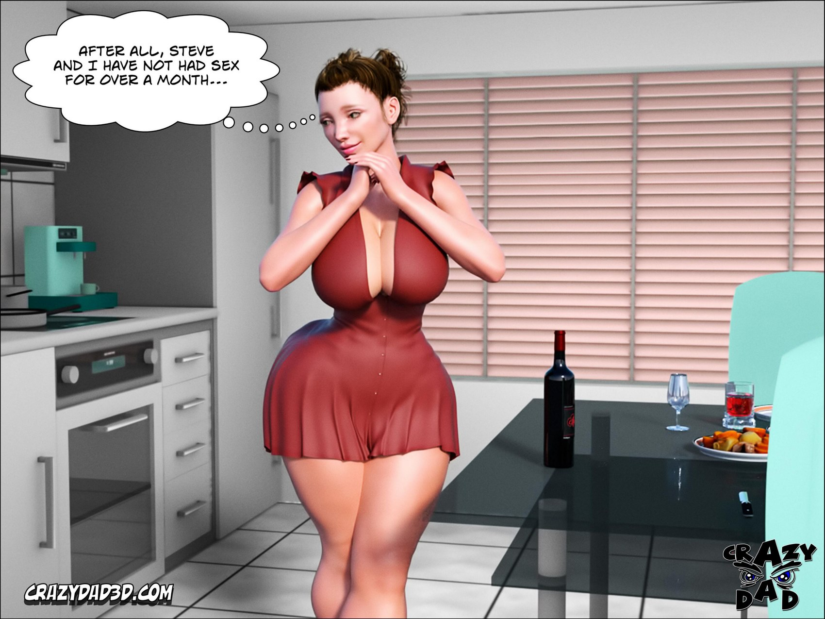 Father In Law At Home 3- CrazyDad3D