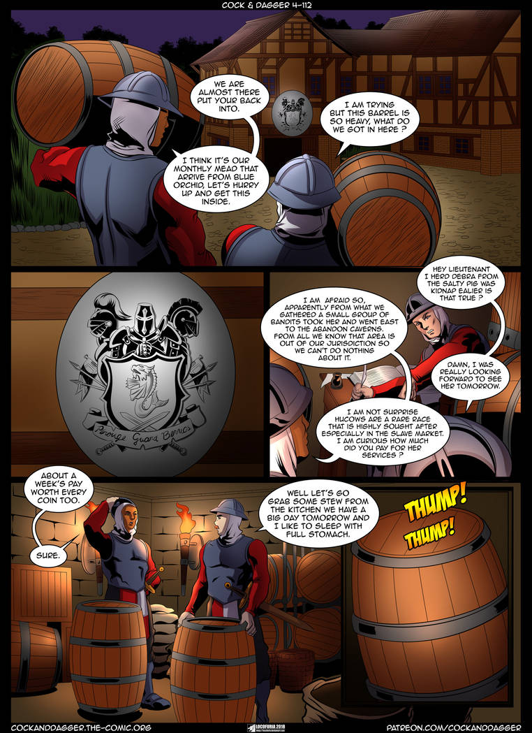 Cock And Dagger 4- Our First Quest (Transmorpher DDS) | Porn Comics