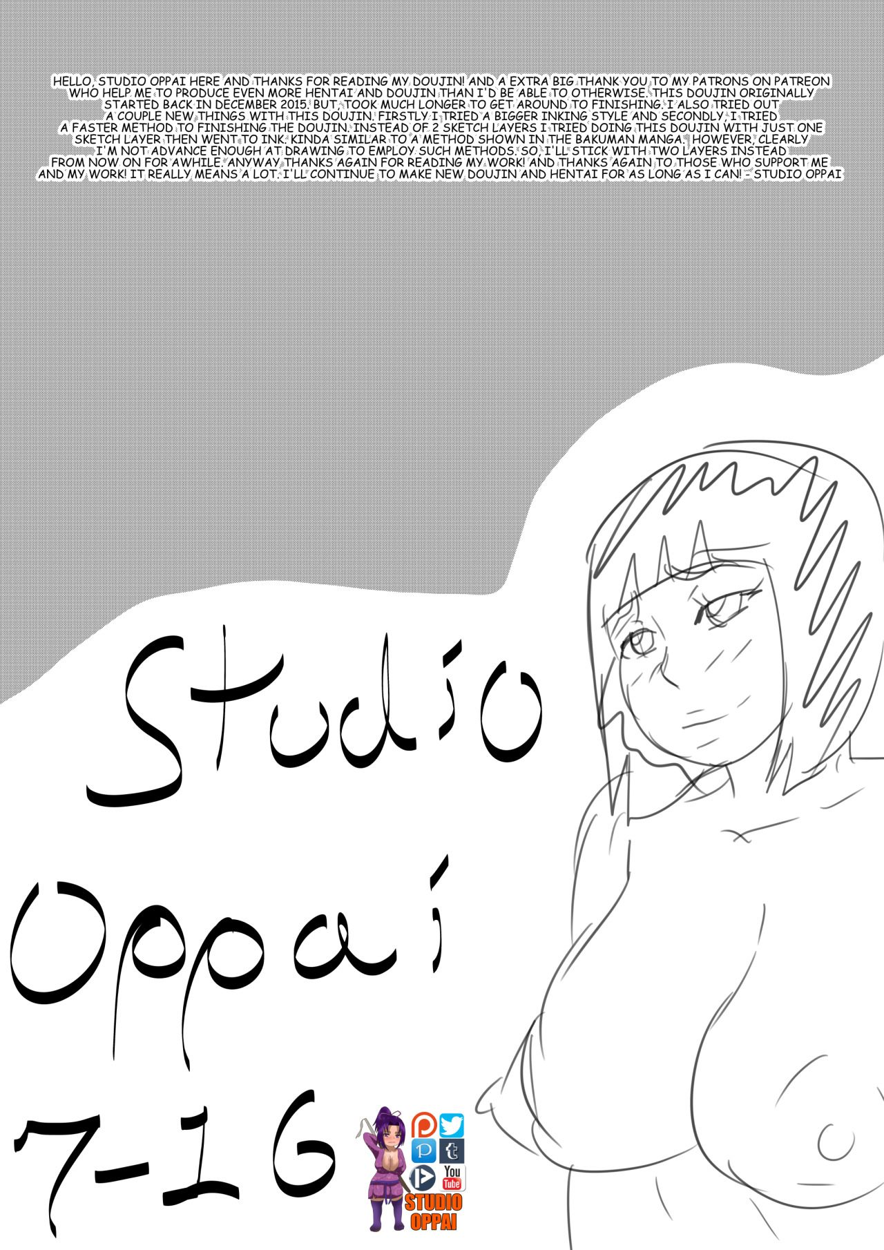 Studio Oppai- Size Does Matter After All (Naruto)