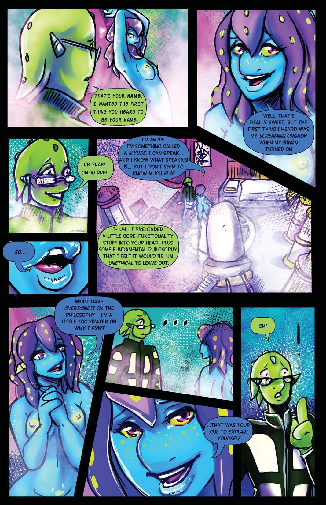 Bimbos in Space #4 – This Is Crazy by Trampy-Hime