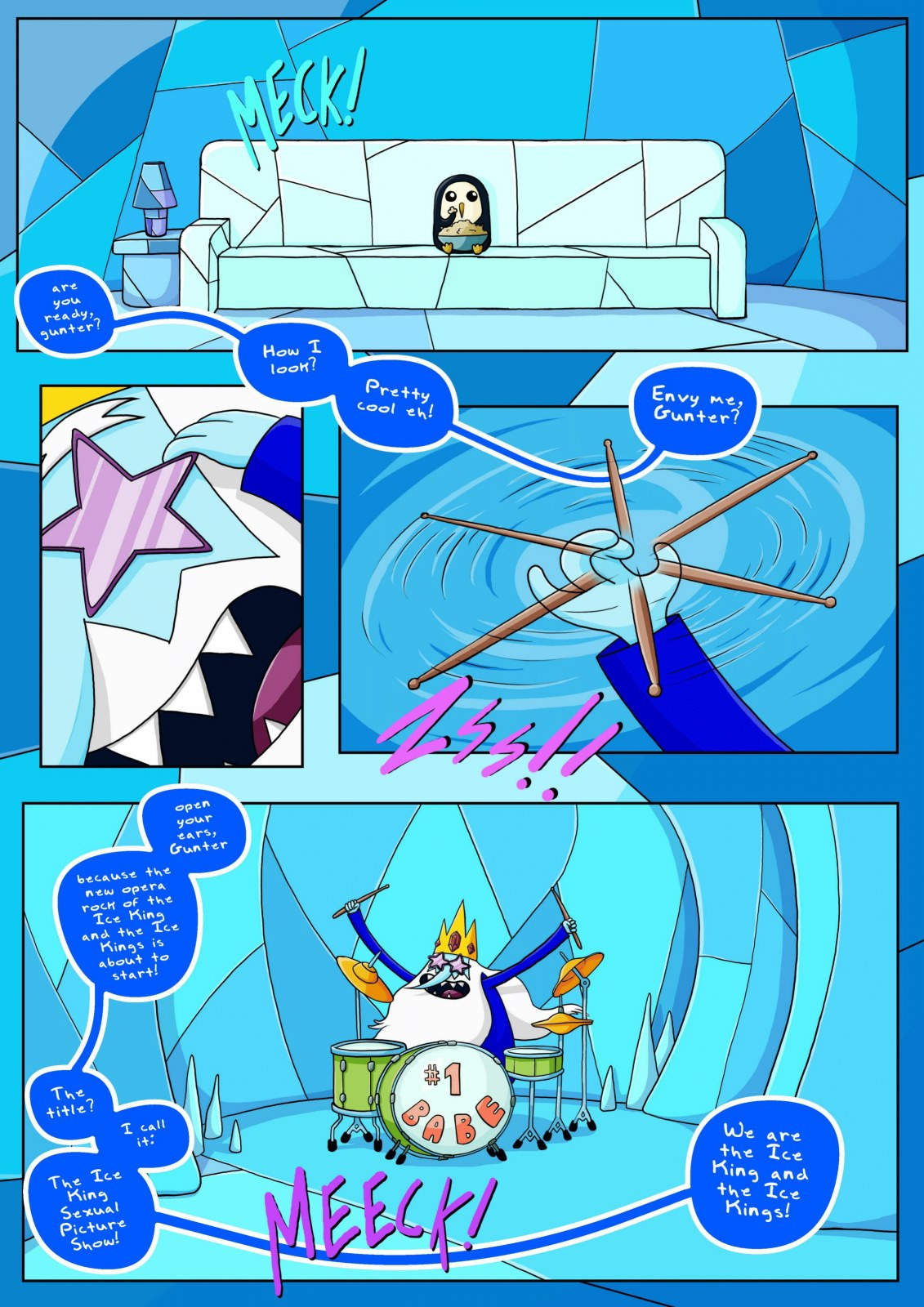 The Ice King Sexual Picture Show- Bill Vicious
