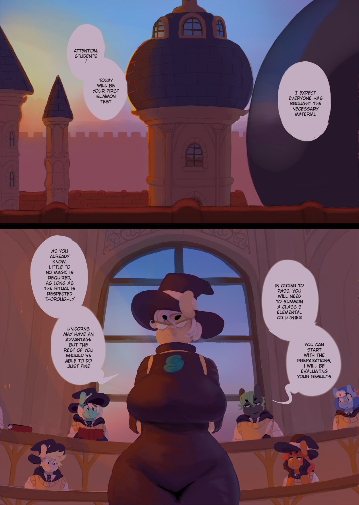 Pony Academy, Chapter 6- Candy Core [Lumo]