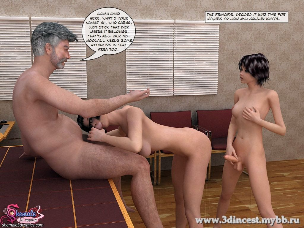Seduced by Students -Teacher Shemale Adult Porn Comix