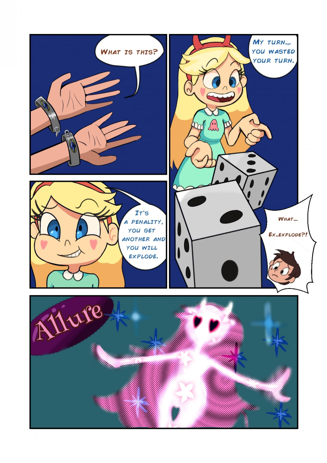 Star Vs. the board game of lust
