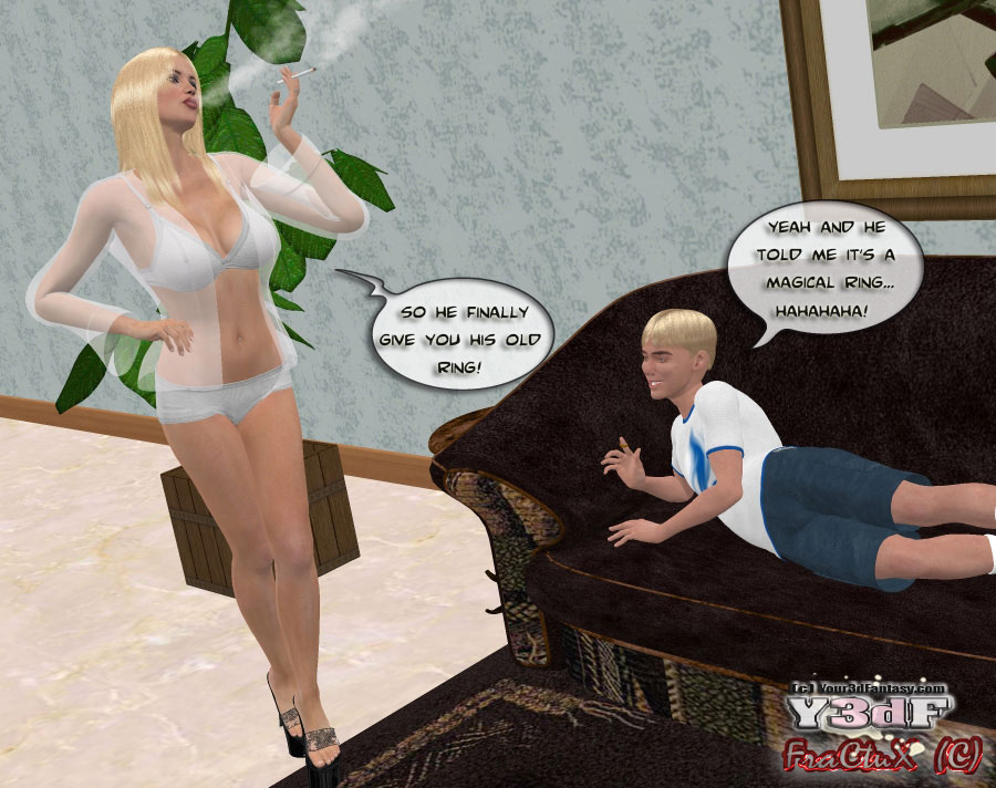 Y3DF-The old Ring - 3D Mom-Son Sex Adult Porn Comix