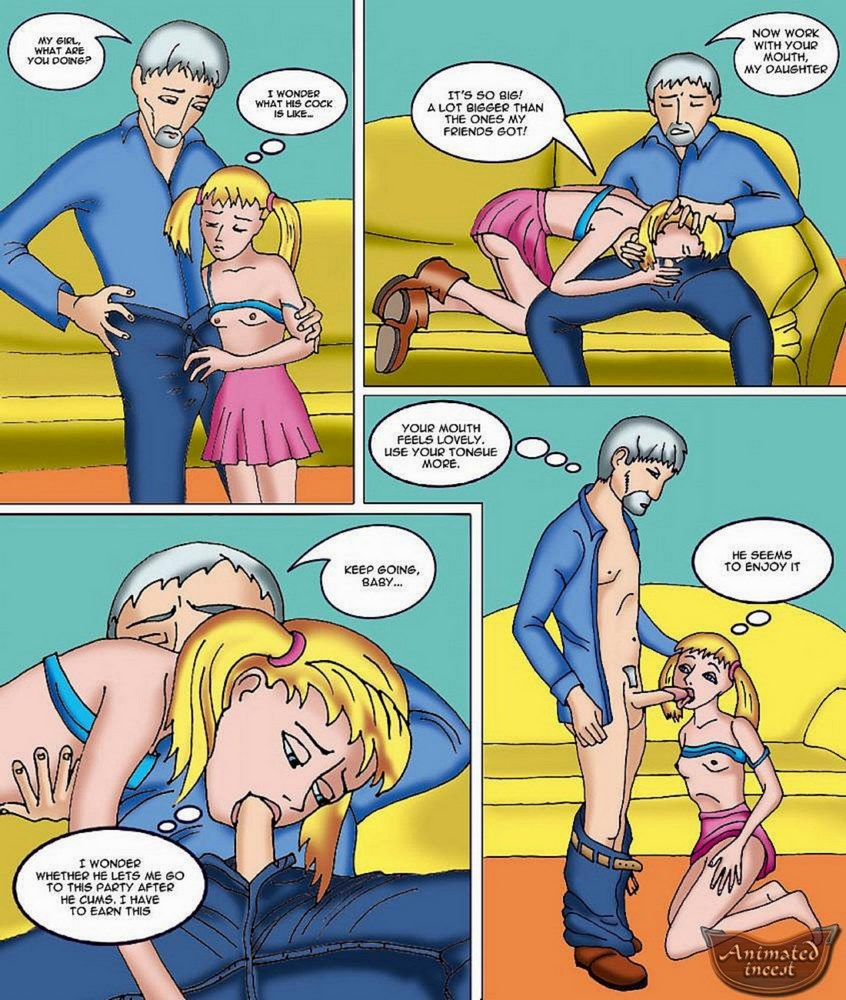 Party With My Dad - Father  Daughter Incest Porn Comix