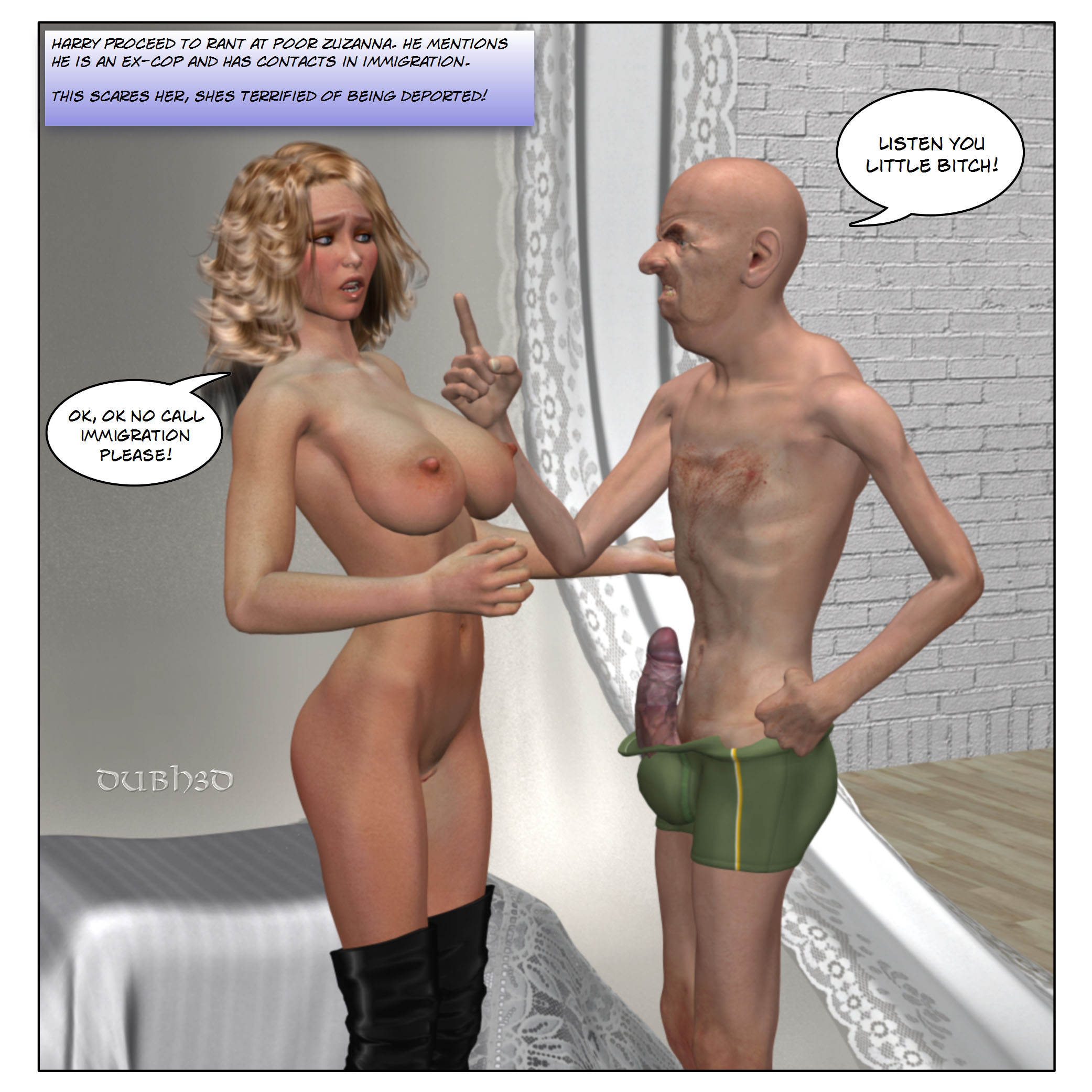 3D Interracial Sex-Tim Dia - Free Adult Porn Comix