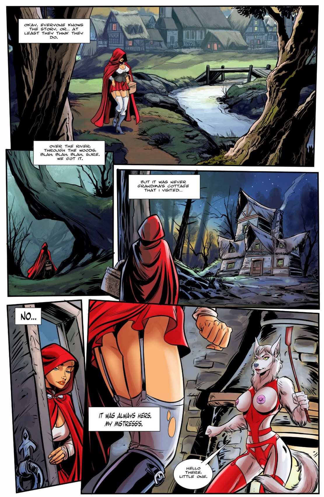 Little Red Riding Hood (One-Shot)- Bot