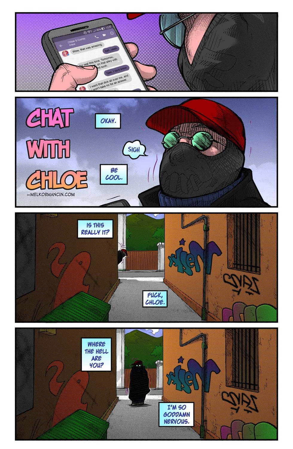 Melkor Mancin- a Chat with Chloe