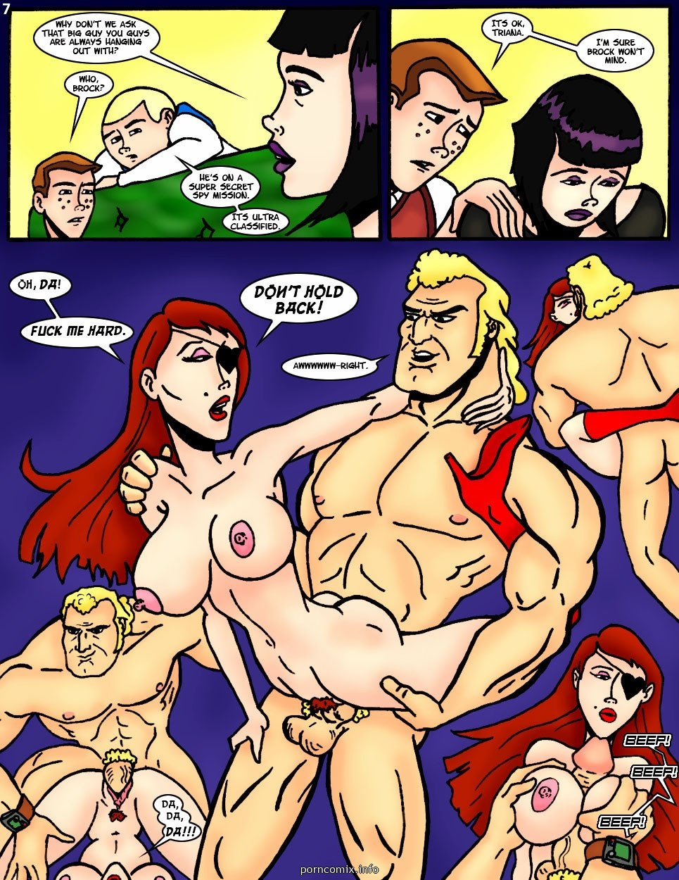 Villainess Intentions - Group-Threesome Porn Comix