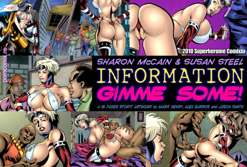 Sharon MacCain in Information- Gimme Some!