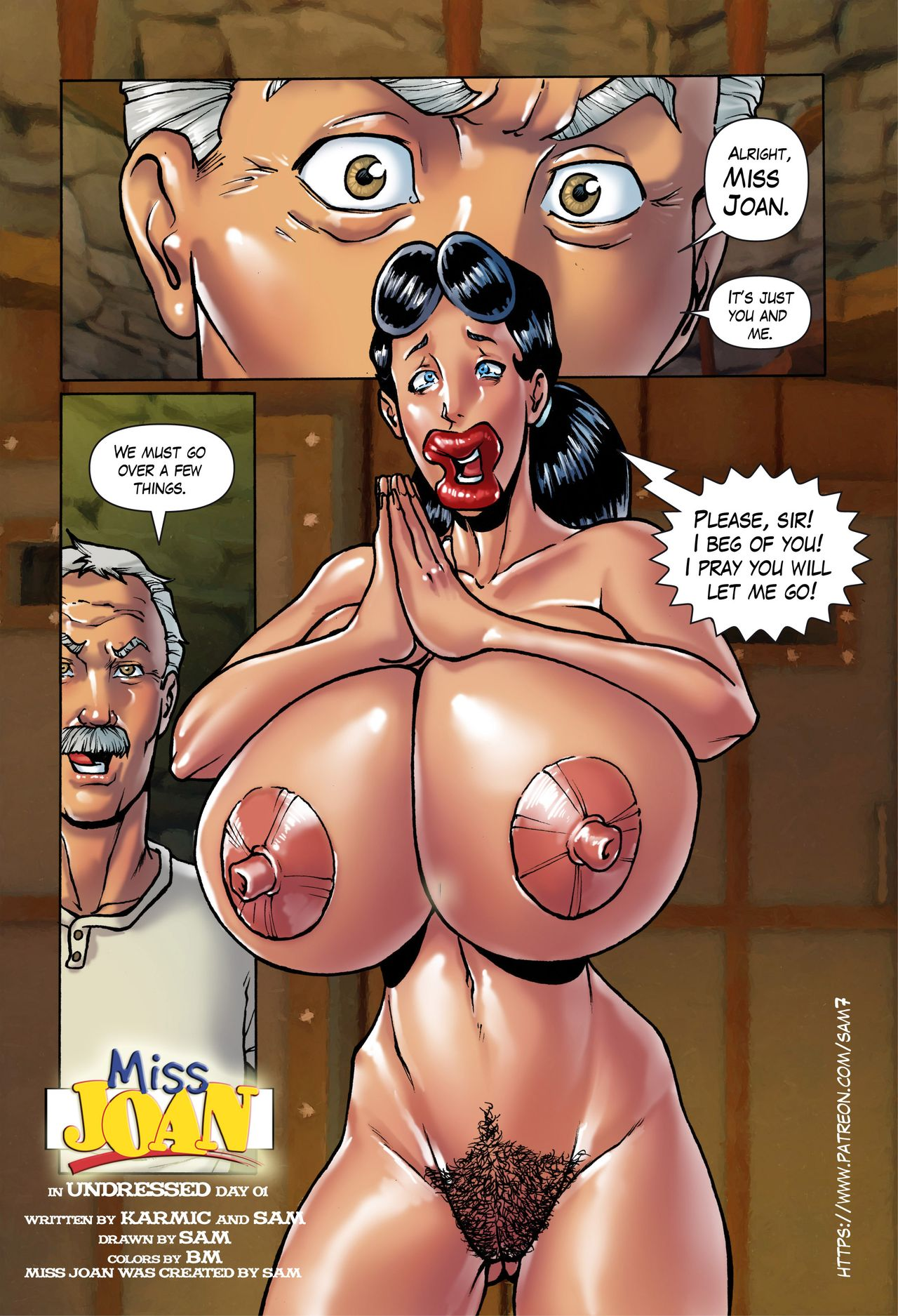 Miss Joan- Undressed Day 01 by Sam7