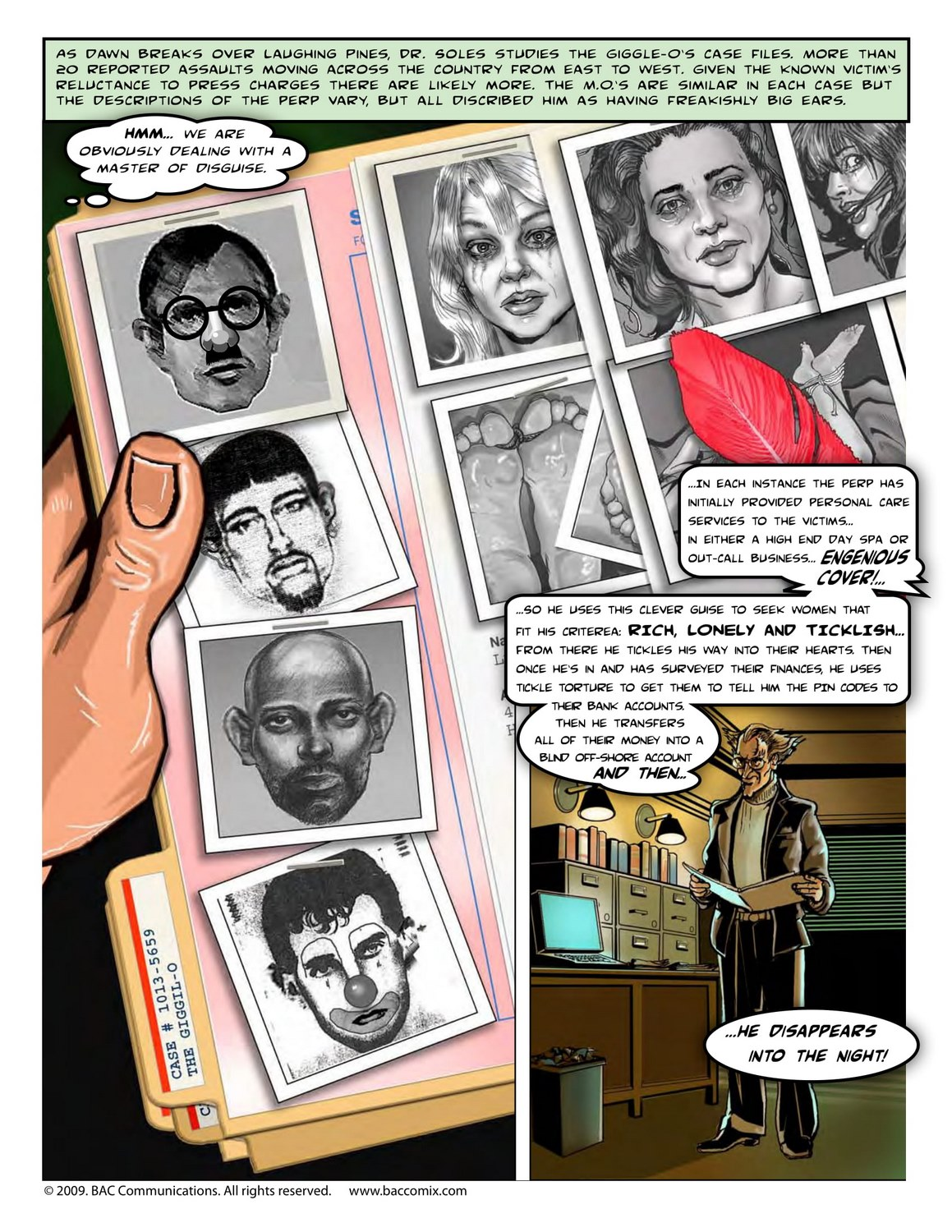 Laughing Pines 02 – BAC Comix