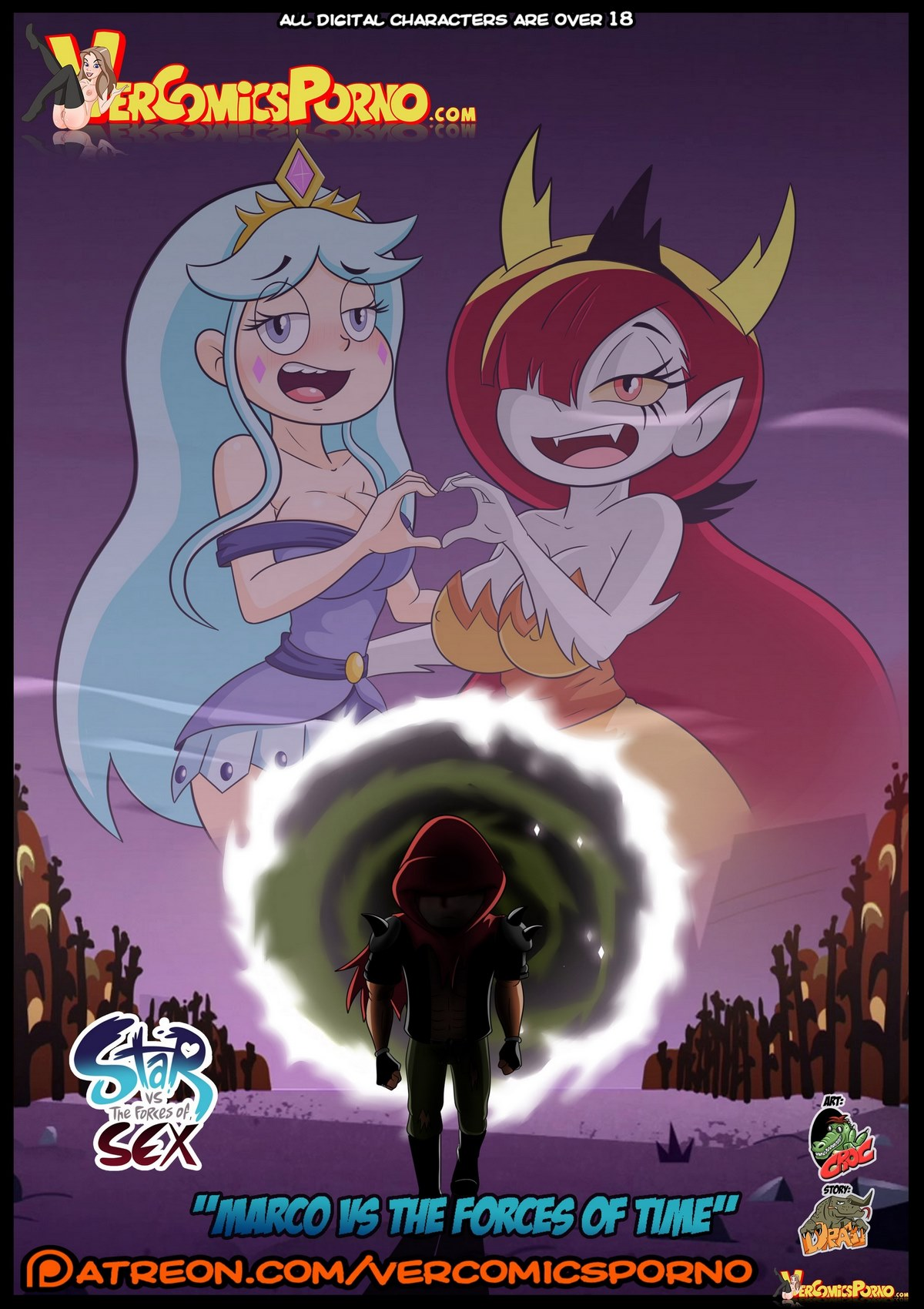 Marco vs the Forces of Time by Croc