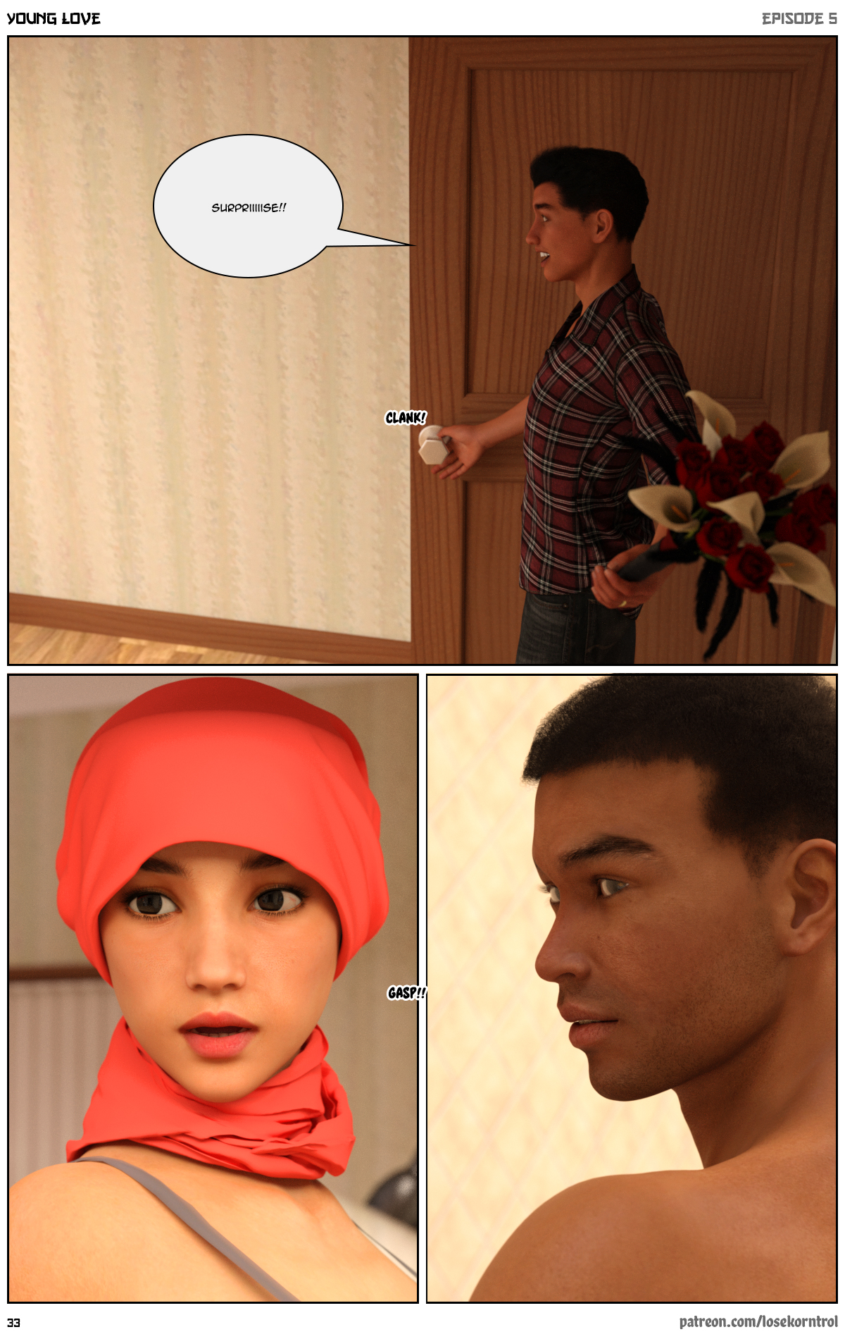 Young Love Episode 5- Losekorntrol (Hijab 3DX)