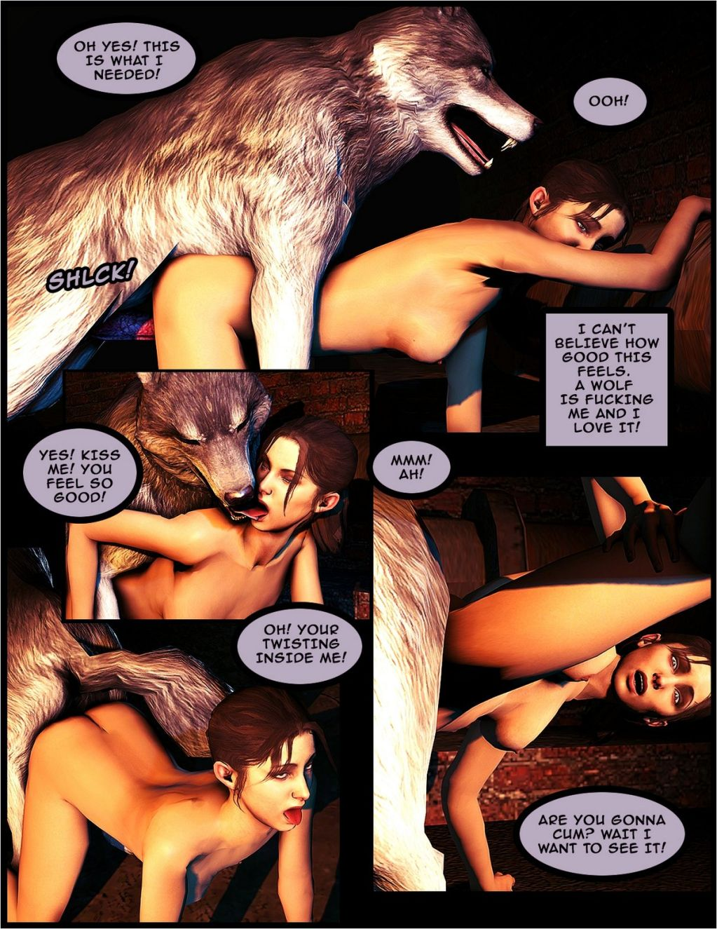 Animal Sex-Zoeys Urges - Free Adult Porn Comix