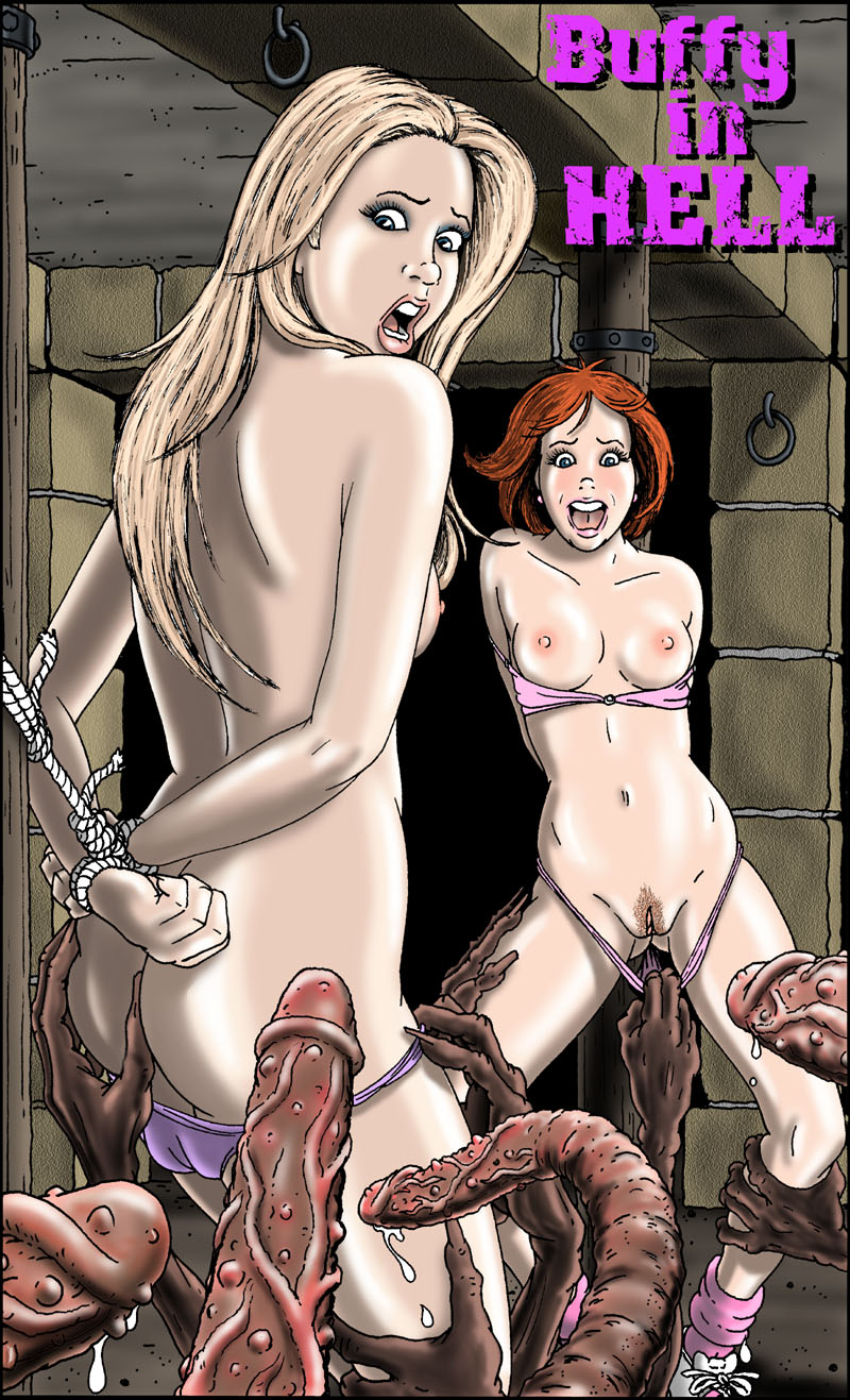 Gary Roberts-Buffy In Hell - Fansadox Collection, Adult Porn Comix