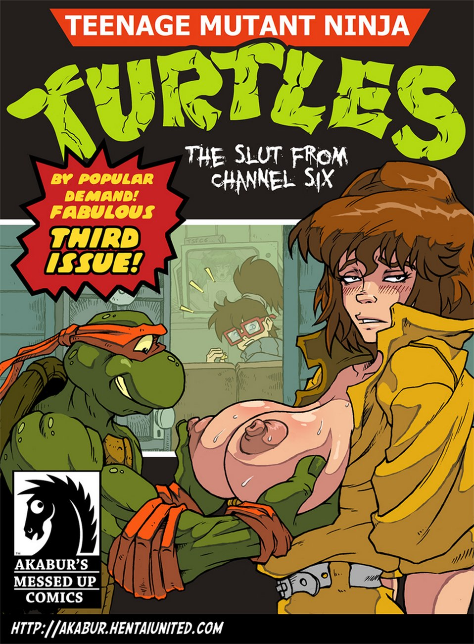 TMNT- The Slut From Channel Six