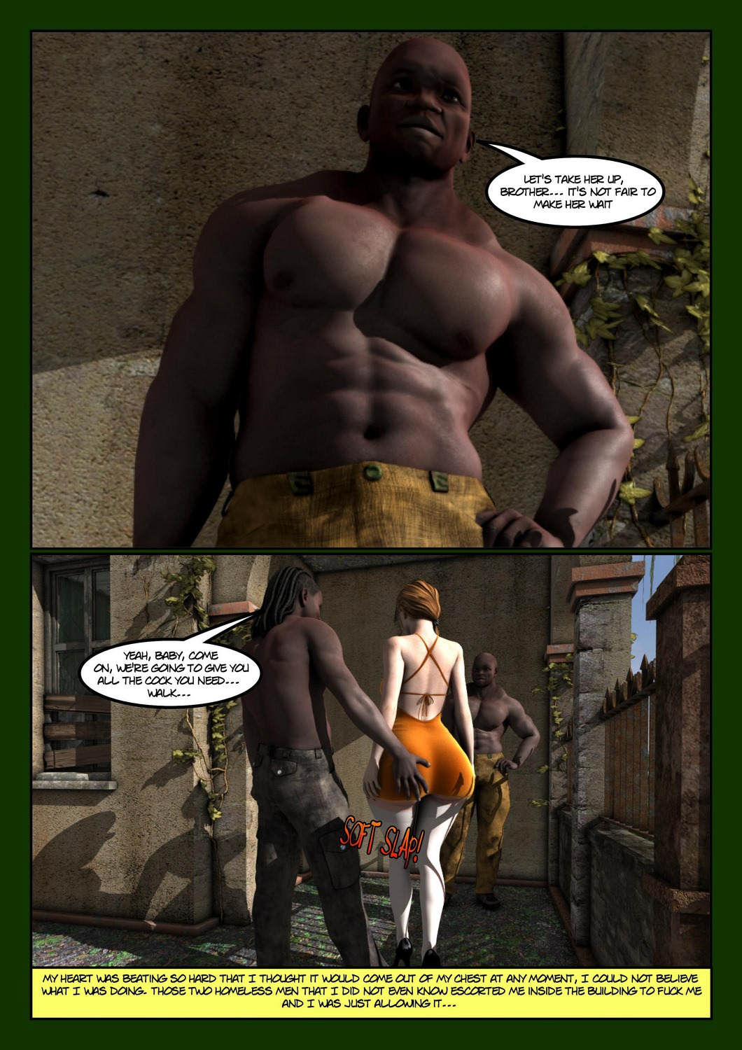 Extra Charity by Moiarte3D, Interracial