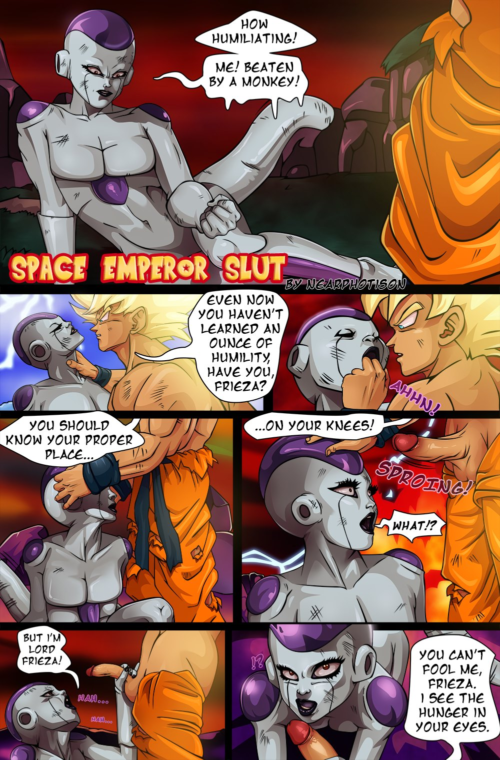 DBZ – Space Emperor Slut- Nearphotison