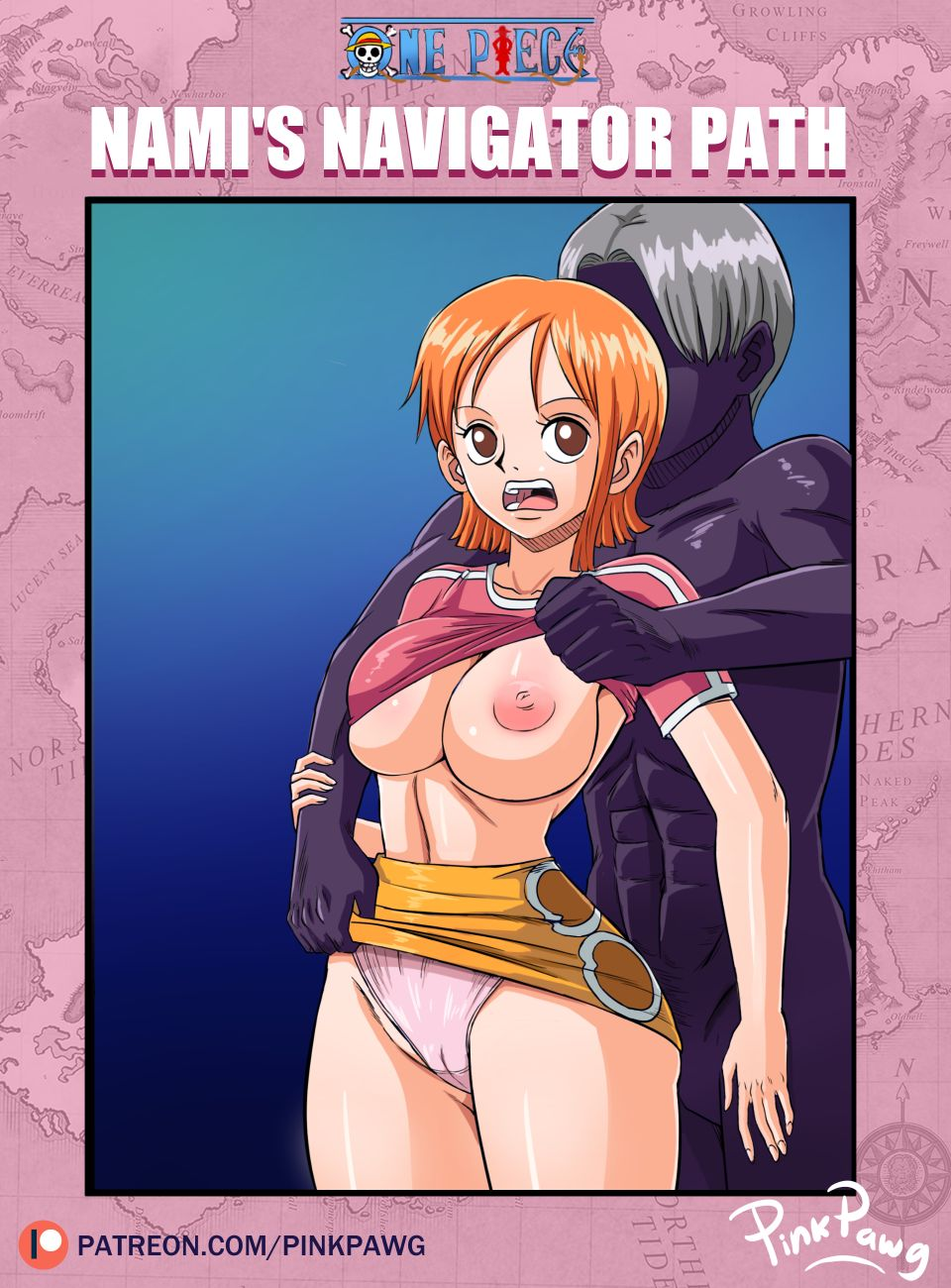 Nami's Navigator Path (one piece) by PinkPawg