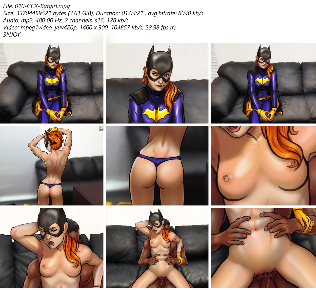 Casting Couch- Batgirl by Pumpkinsinclair