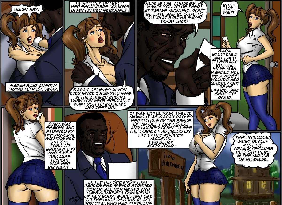 Illustrated interracial-School Girl Sara - Free Adult Porn Comix
