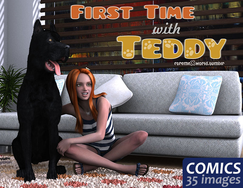 First time with Teddy- ExtremeXworld