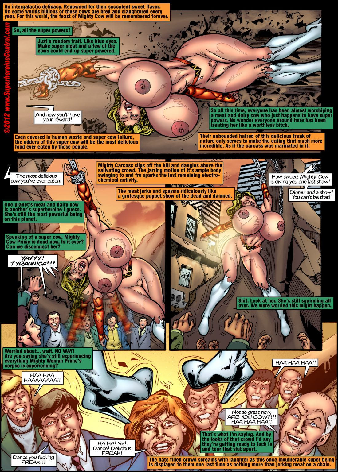 Death of Mighty Woman- Superheroine Central