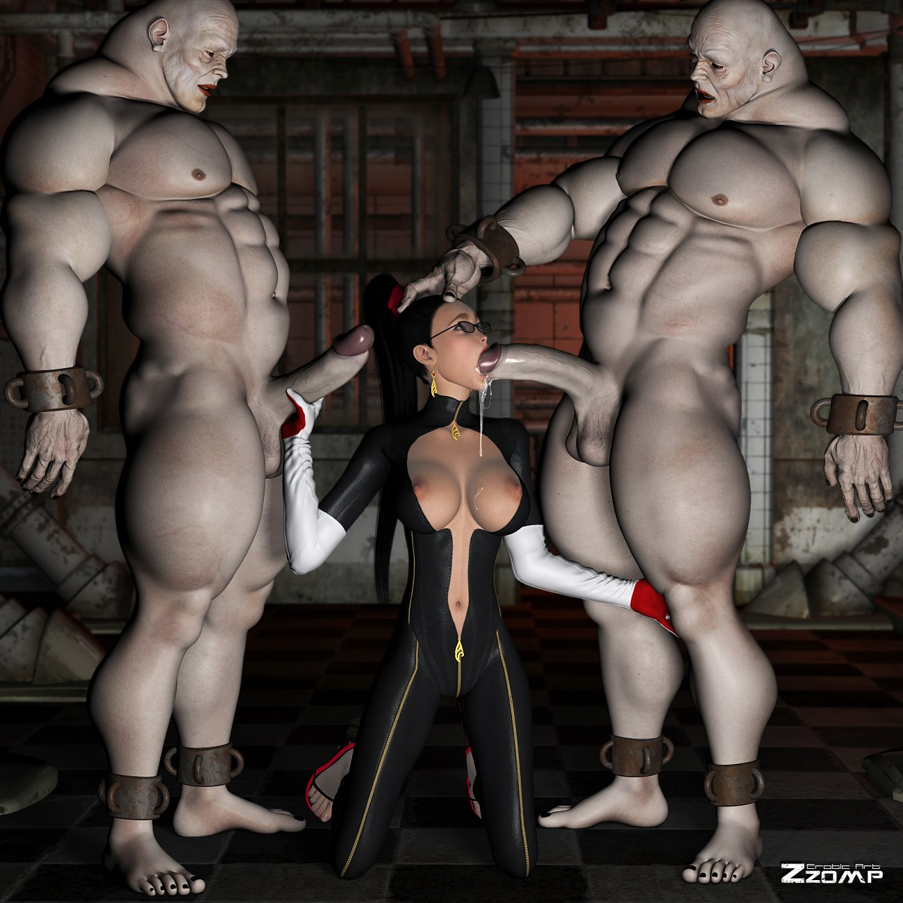 ZZomp- Bayonetta Pleasing Demons