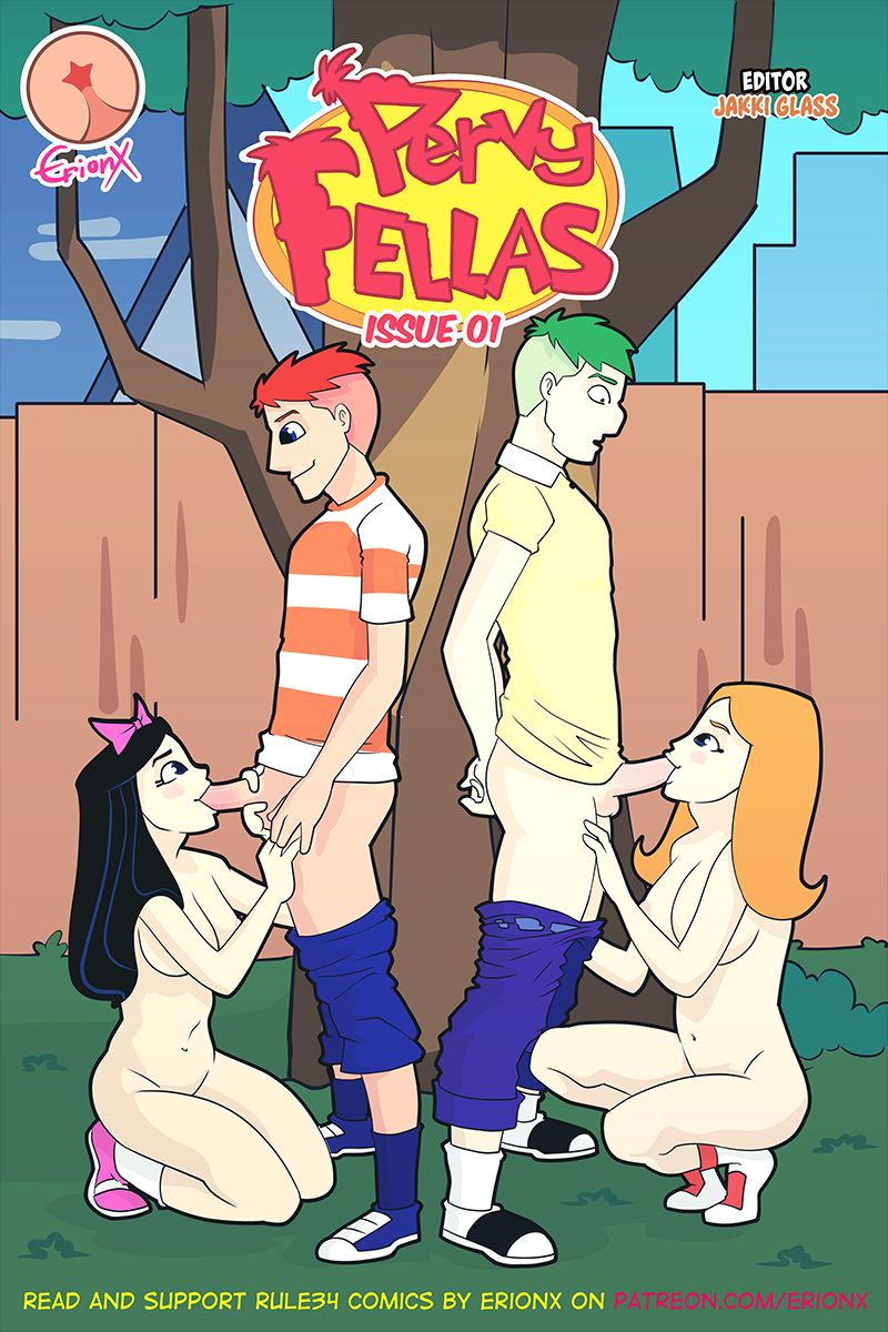 Pervy Fellas (Phineas and Ferb) by ErionX