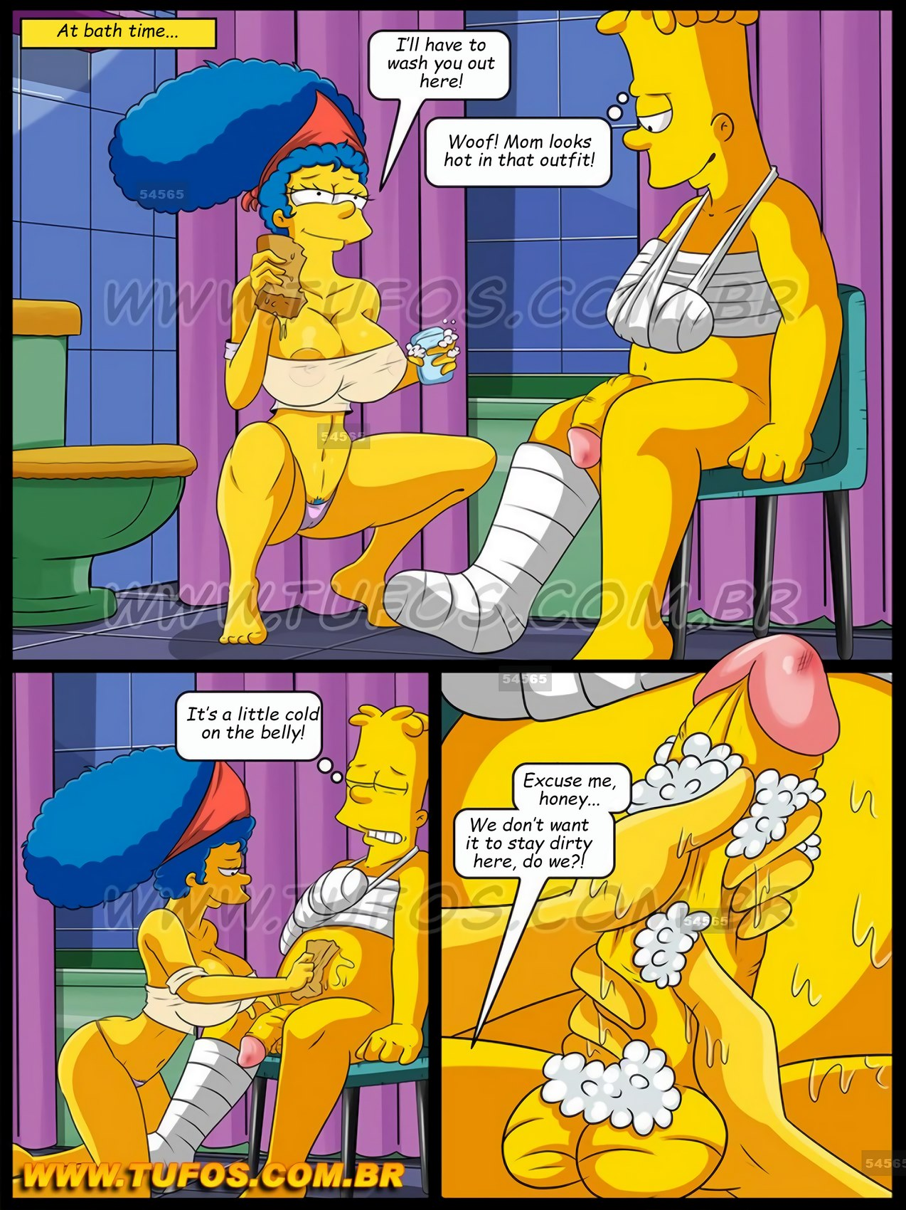 The Simpsons 15 – Caring For the Injured Son (Tufos) | Porn Comics