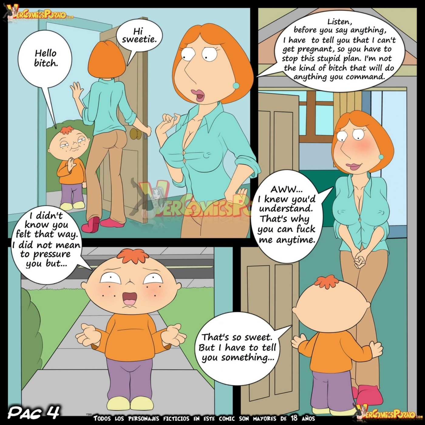 Baby's Play 5- Impregnation of Lois- Family Guy