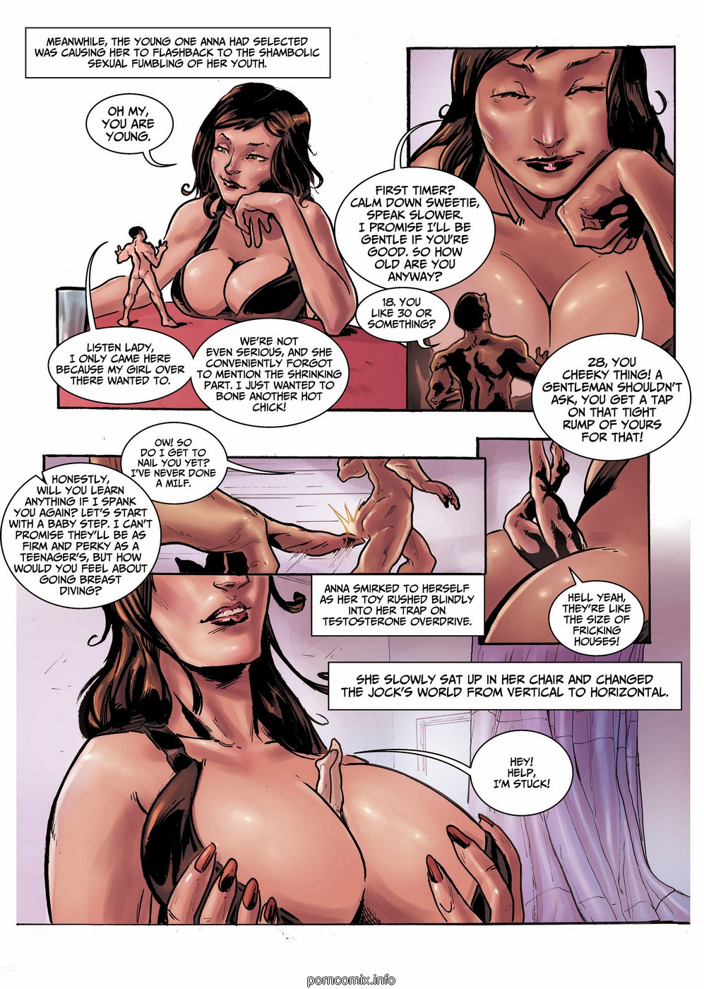 Size Swingers 01 -Giant Girls Free Adult Porn Comix