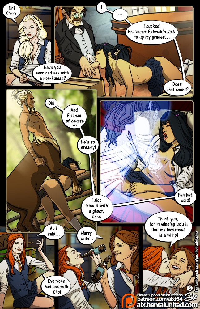 Fuckit- Meanwhile in Hogwarts – Truth or Dare (Harry Potter) | Porn Comics