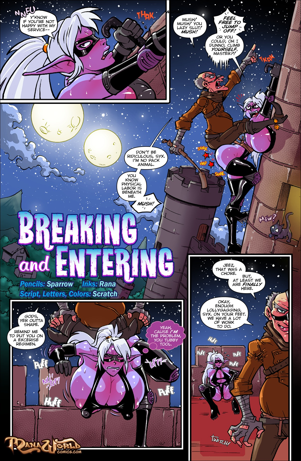 Breaking and Entering- ManaWorld