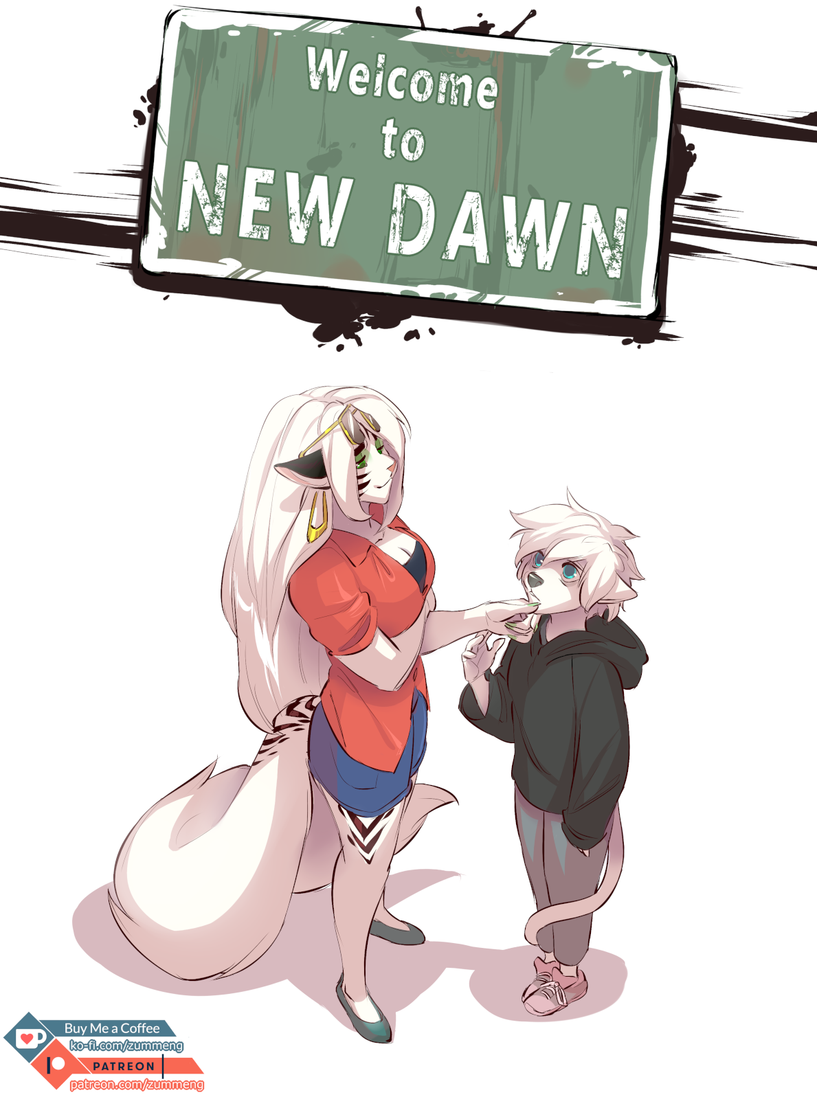 Welcome to New Dawn- Zummeng