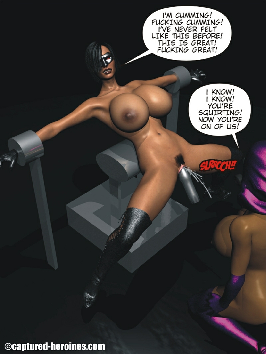 Captured Porn - Back on the Streets 5 to 6 – Captured Heroine | Free Sex Comics And Adult  Cartoons. Full Porn Comics, 3D Porn